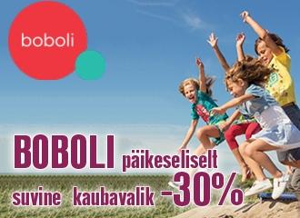 BOBOLI PÄIKESELISELT SUVINE KAUBAVALIK  -30%